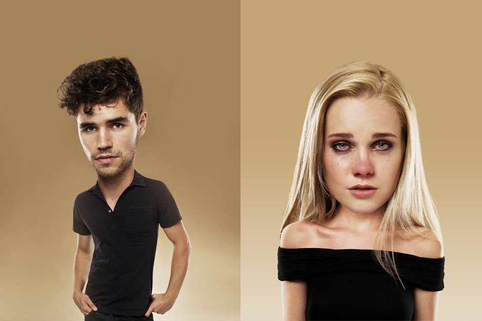 photo retouching for love hurts project