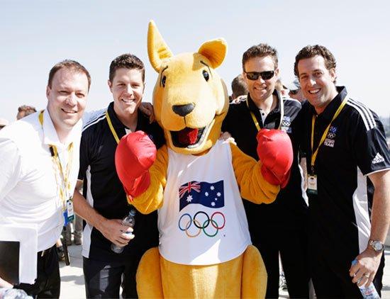 Australian Olympics Team in London 2012 (c) HeadshotLondon