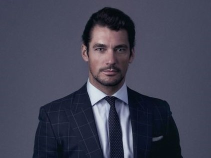 David Gandy Editorial portrait