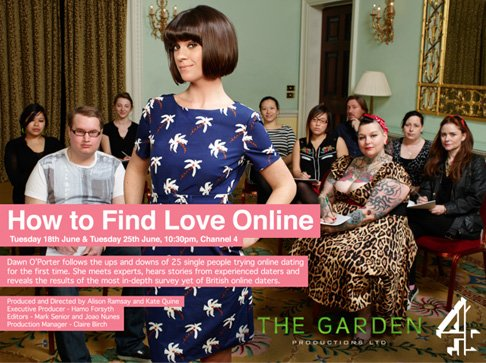 How to find love online - channel 4 photography