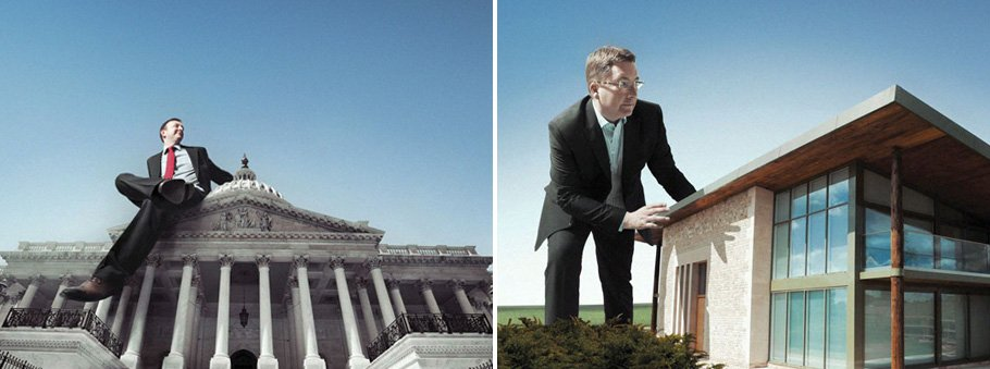 Green Screen Corporate Photography Retouch