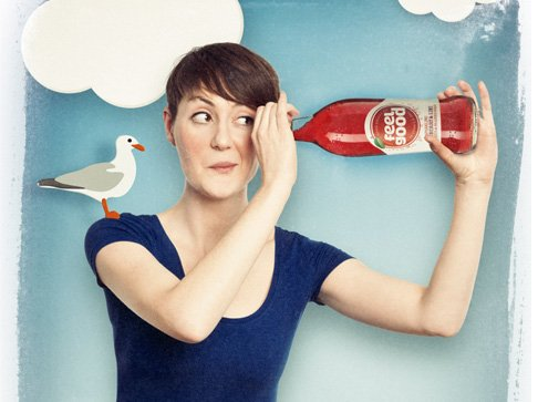 Advertising Campaign for Feel Good Drinks
