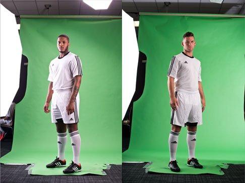 Green Screen Photography & Photo Retouching for Football Company