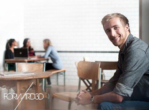 forward3D company photo shoot