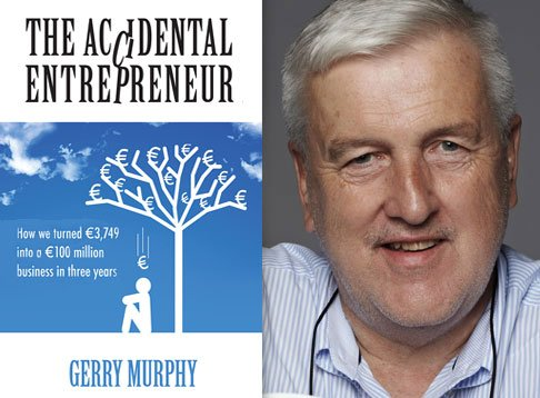 gerry murphy author portrait