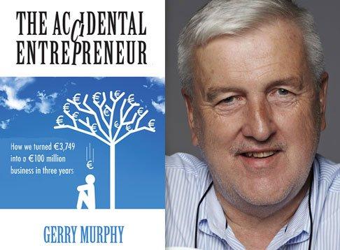 gerry murphy author portrait