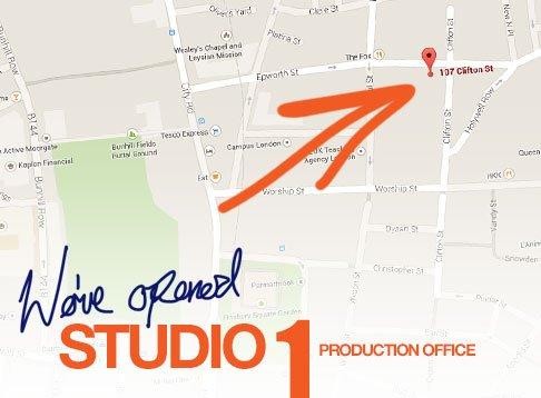 New Portrait Photography Studio In Shoreditch - Headshot London