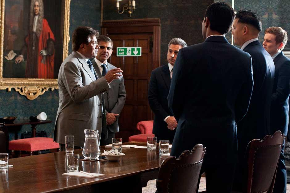 events RBS Pervez Musharraf by Headshot London