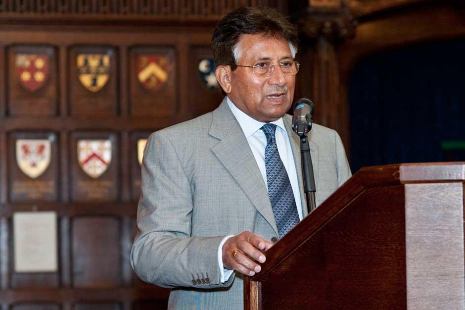 event photography RBS Pervez Musharraf by Headshot London