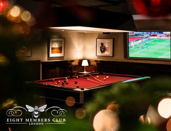 Eight Members Club - Interior Photography