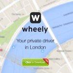 Wheely London taxi app portrait photographs