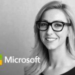 Microsoft Dynamics black and white portrait shoot