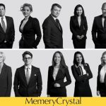 Memery crystal black and white corporate portraits