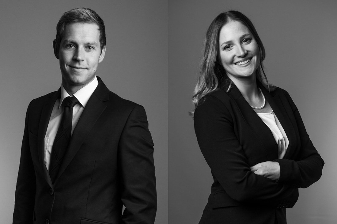 Black and White Portrait Photography for Business Marketing