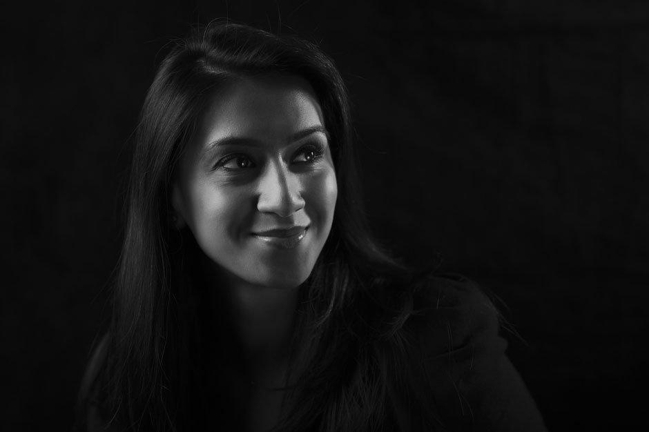 Black and White Corporate Portrait